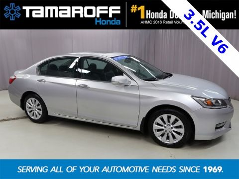 Certified Pre-Owned 2014 Honda Accord EX-L 3.5L V6 FWD 4D Sedan